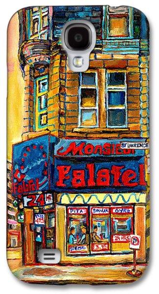 Monsieur Falafel Galaxy S4 Case