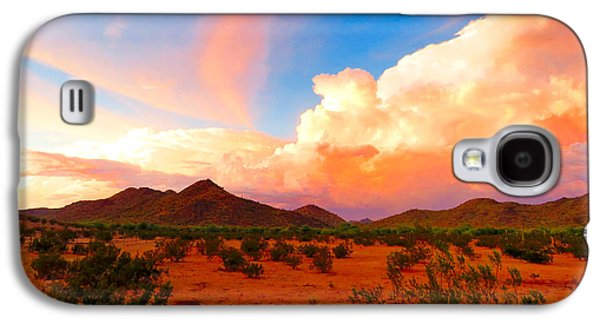 Monsoon Storm Sunset Galaxy S4 Case