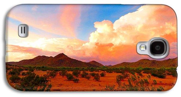 Monsoon Storm Sunset Galaxy S4 Case