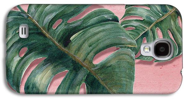 Monstera Leaf  Galaxy S4 Case