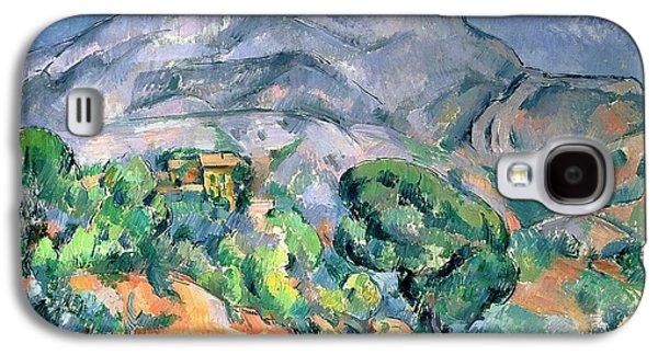 Mont Sainte Victoire Galaxy S4 Case by Paul Cezanne