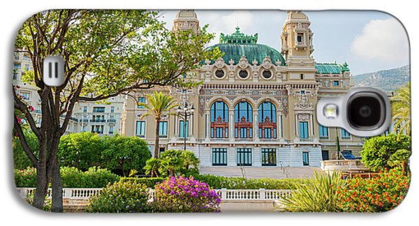 Monte Carlo Casino Galaxy S4 Case by Elena Elisseeva