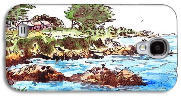 Monterey Shore Galaxy S4 Case by Irina Sztukowski