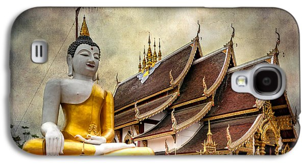 Monthian Temple Buddha Galaxy S4 Case by Adrian Evans