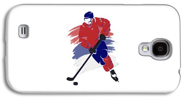 Montreal Canadiens Player Shirt Galaxy S4 Case by Joe Hamilton