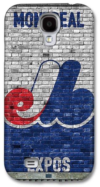 Montreal Expos Brick Wall Galaxy S4 Case by Joe Hamilton