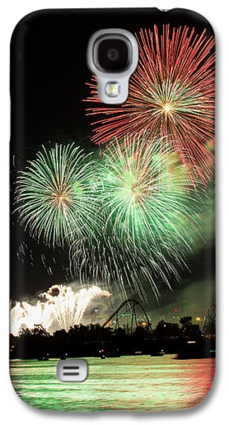 Montreal-fireworks Galaxy S4 Case by Mircea Costina Photography