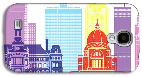 Montreal_v2 Skyline Pop Galaxy S4 Case by Pablo Romero