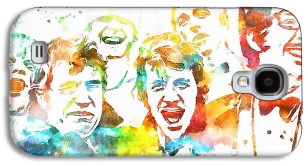 Monty Python Watercolor Tribute Galaxy S4 Case by Dan Sproul