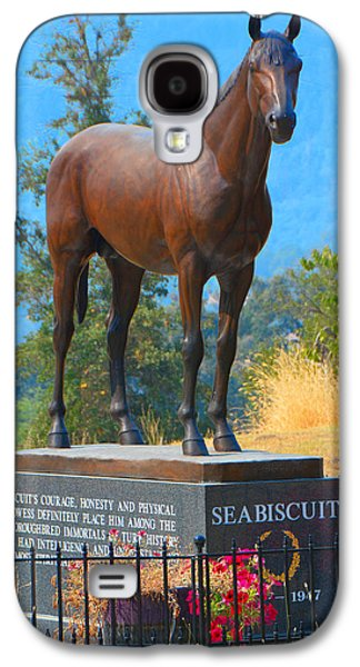 Monument To Seabiscuit Galaxy S4 Case