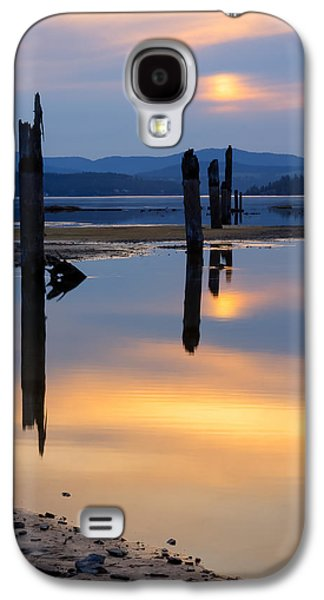Recently Sold -  - Contemplative Photographs Galaxy S4 Cases - Mood on the Bay Galaxy S4 Case by Idaho Scenic Images Linda Lantzy