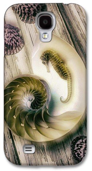 Moody Seahorse Galaxy S4 Case by Garry Gay