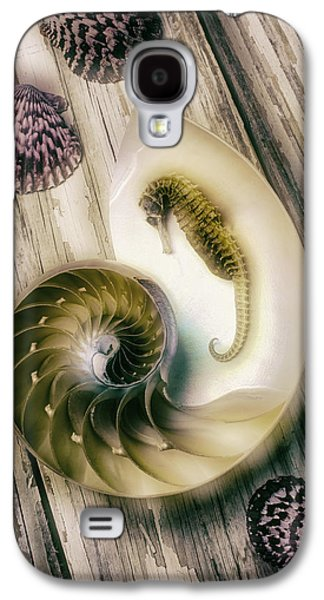 Moody Seahorse Galaxy S4 Case by Garry Gay