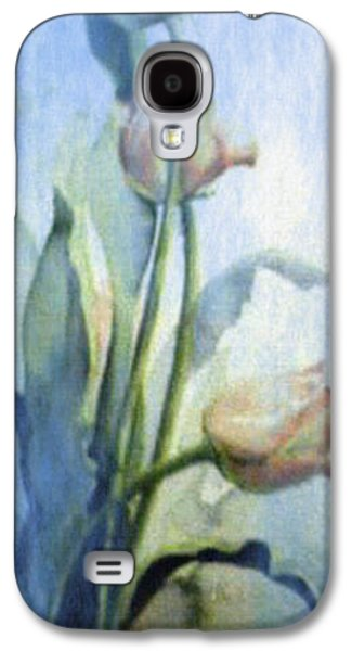 Moody Tulips Galaxy S4 Case by Hanne Lore Koehler