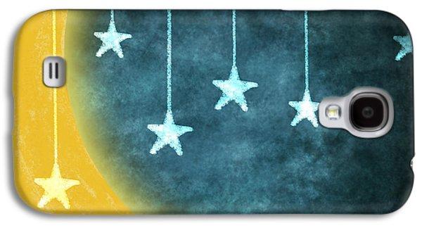 Moon And Stars Galaxy S4 Case by Setsiri Silapasuwanchai