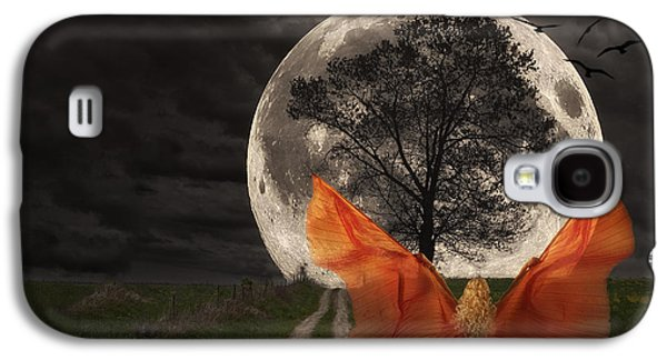 Moon Goddess Galaxy S4 Case by Tom Mc Nemar