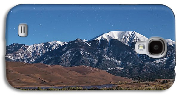Moon Lit Colorado Great Sand Dunes Starry Night  Galaxy S4 Case by James BO Insogna