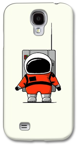 Moon Man Galaxy S4 Case by Nicholas Ely