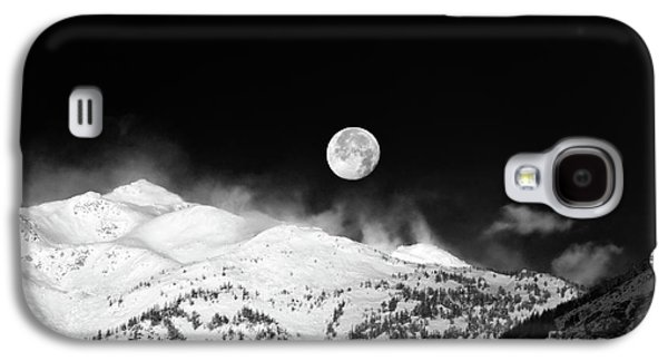 Moon Over The Alps Galaxy S4 Case by Silvia Ganora