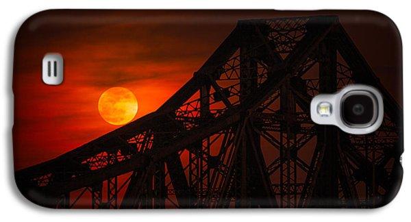 Moon Over The Bridge Galaxy S4 Case