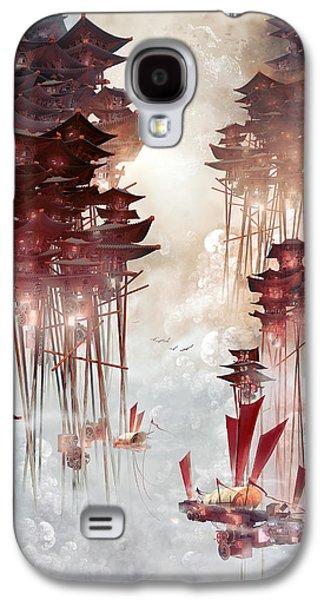 Moon Palace Galaxy S4 Case by Te Hu