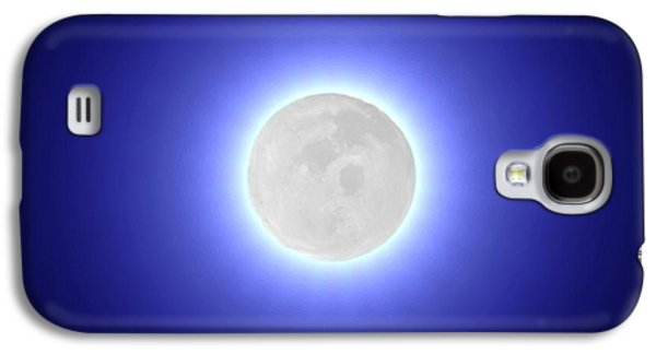 Moon Galaxy S4 Case