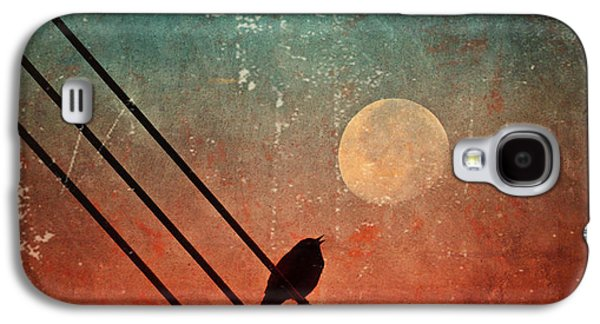 Tara Turner Galaxy S4 Cases - Moon Talk Galaxy S4 Case by Tara Turner