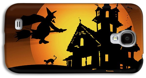 Moon Witch Galaxy S4 Case by Marilu Windvand
