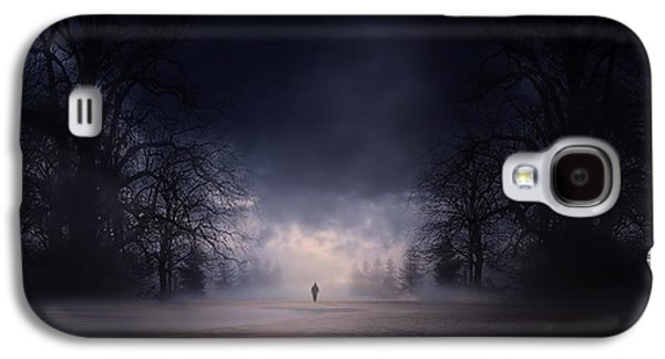 Macabre Galaxy S4 Cases - Moonlight Journey Galaxy S4 Case by Lourry Legarde