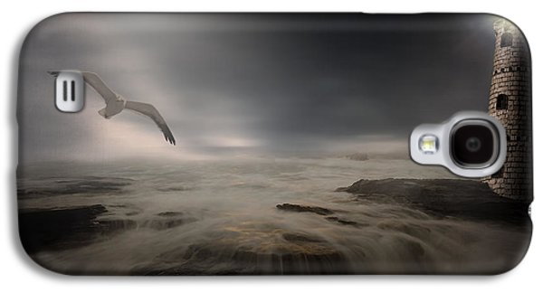 Moonlight Lighthouse Galaxy S4 Case by Lourry Legarde