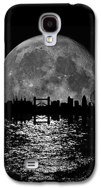 Moonlight London Skyline Galaxy S4 Case