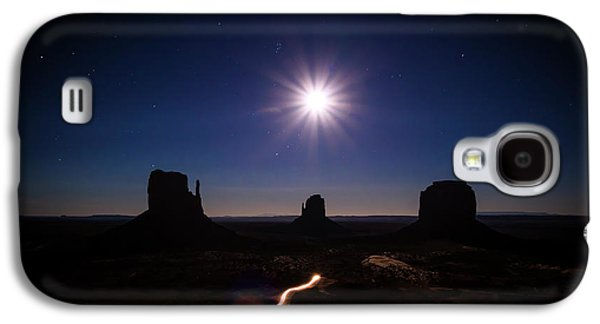 Moonlight Over Valley Galaxy S4 Case by Edgars Erglis