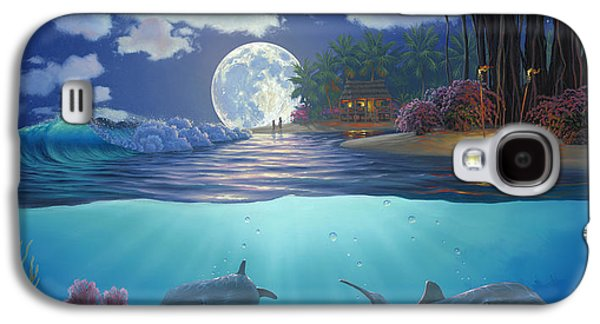 Moonlit Sanctuary Galaxy S4 Case by Al Hogue