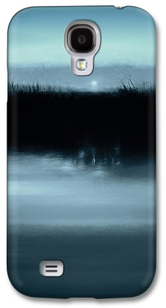 Moonrise On The Water Galaxy S4 Case