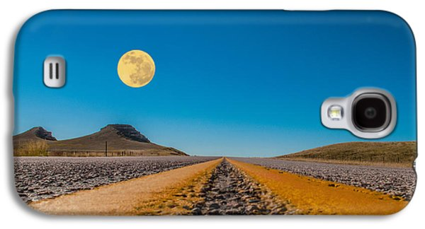 Moonrise Wyoming Galaxy S4 Case