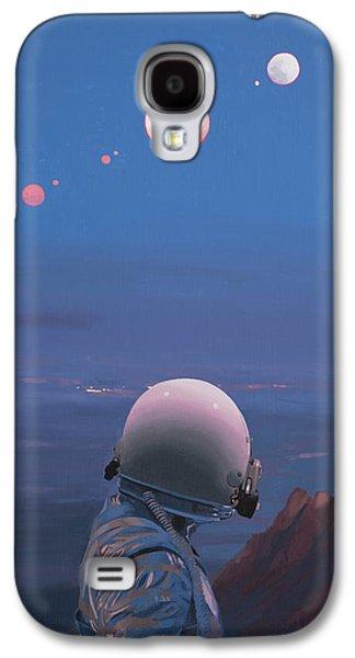 Moons Galaxy S4 Case