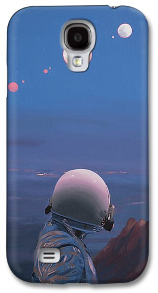 Moons Galaxy S4 Case