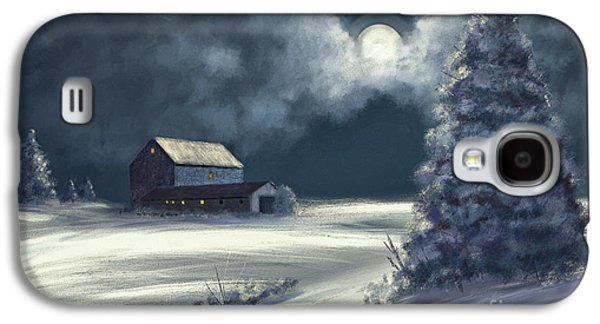 Moonshine On The Snow Galaxy S4 Case