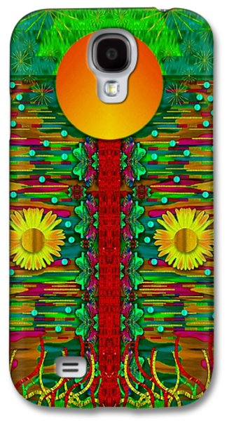 Moonshine Over The Golden Sacred Pond  Galaxy S4 Case