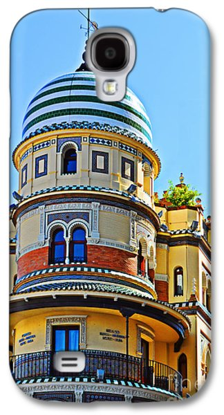 Moorish Tower With Hdr Processing Galaxy S4 Case by Mary Machare