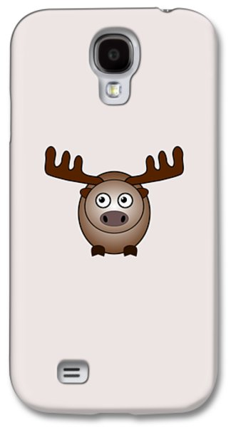 Moose - Animals - Art For Kids Galaxy S4 Case by Anastasiya Malakhova