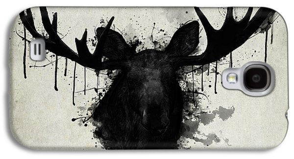 Bull Galaxy S4 Case - Moose by Nicklas Gustafsson