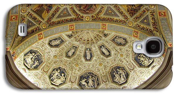 Galaxy S4 Case featuring the photograph Morgan Library Rotunda by Jessica Jenney