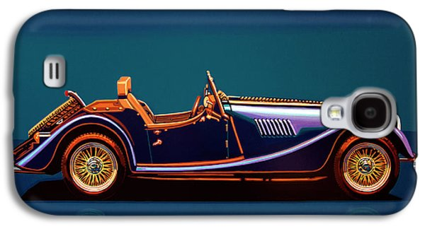 Morgan Roadster 2004 Painting Galaxy S4 Case by Paul Meijering