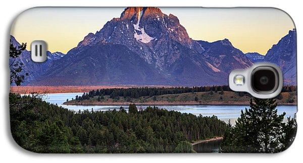 Morning At Mt. Moran Galaxy S4 Case by David Chandler