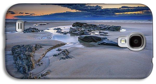 Morning Calm On Wells Beach Galaxy S4 Case by Rick Berk