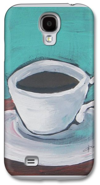 Morning Coffee Galaxy S4 Case by Vesna Antic
