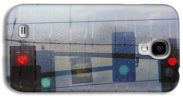 Morning Commute Galaxy S4 Case by Rebecca Cozart