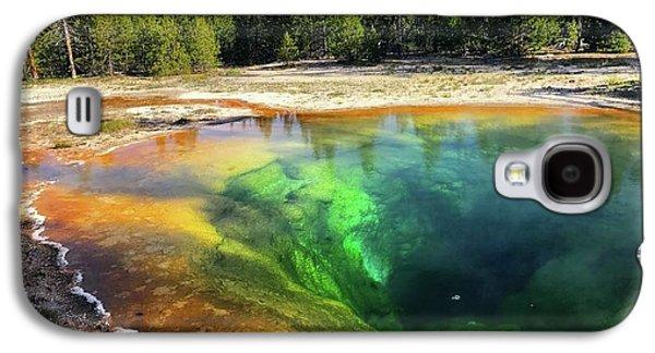 Morning Glory Pool Galaxy S4 Case