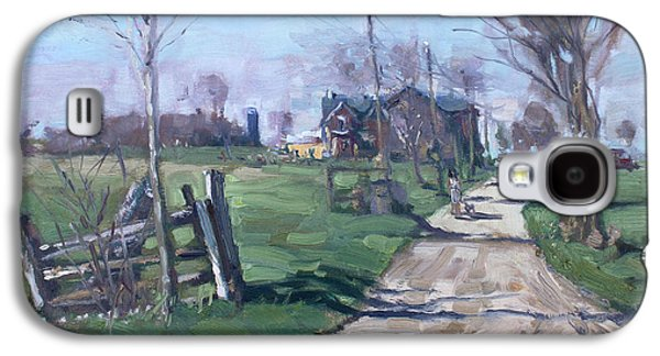 Morning In The Farm Georgetown Galaxy S4 Case by Ylli Haruni